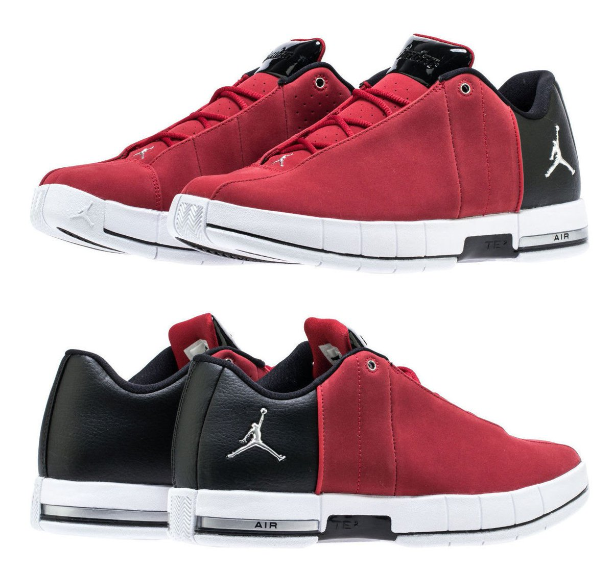 a2f265f473644 AIR JORDAN Team Elite 2 Low Sneaker Mens red black   74.99 https