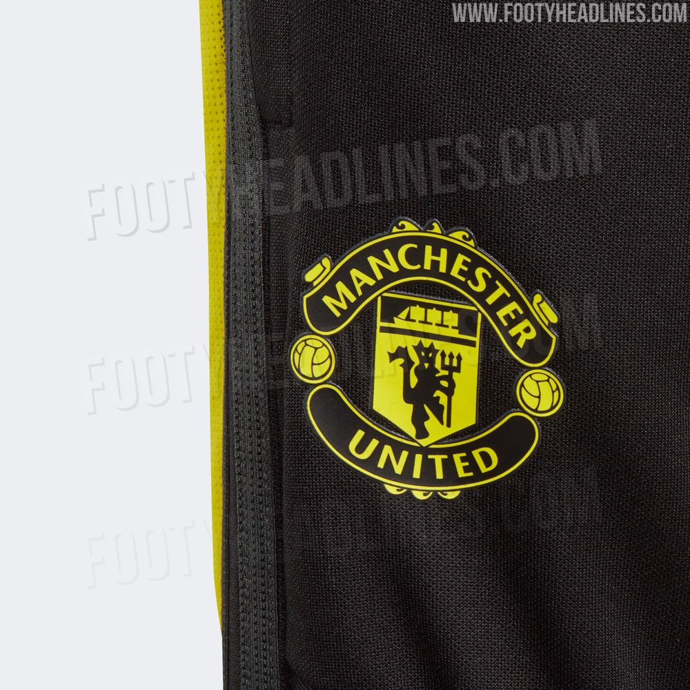 Footy Headlines On Twitter Blue Black Yellow Manchester United 19 20 Training Kit Leaked Https T Co Vfnvbgzty5