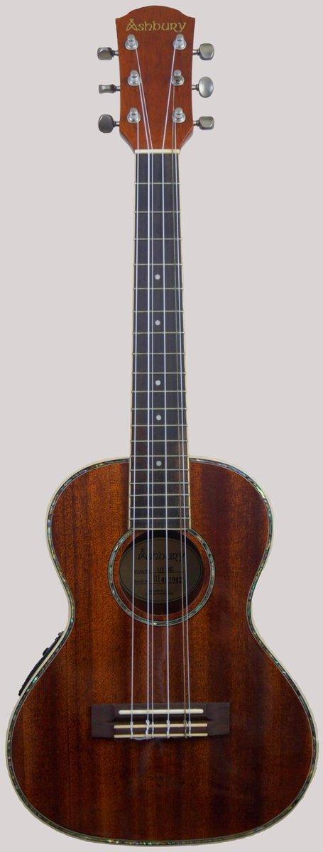 Ashbury AU68 Electro-Acoustic Tenor Lili'u 6 string Ukulele