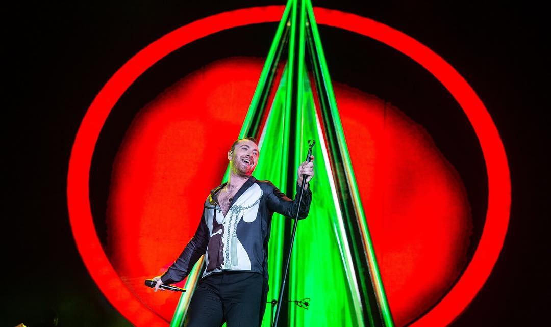 Confira fotos e vídeos do show de Sam Smith no Lollapalooza Argentina