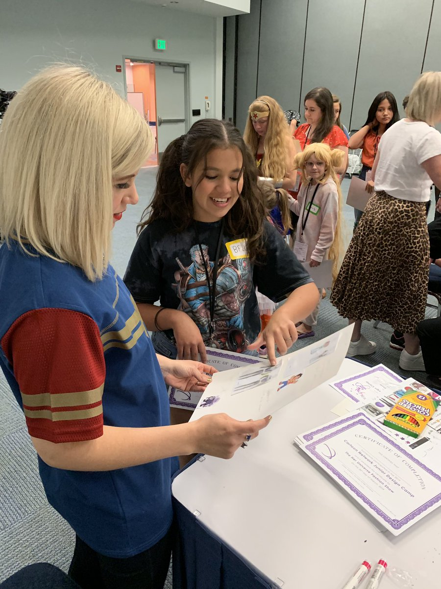 Her Universe On Twitter One Of My Favorite Events Of The Year Is Our Cartoonnetwork Junior Design Camp At Wondercon Teaching Kids Is A Passion Of Mine And We Had So Much