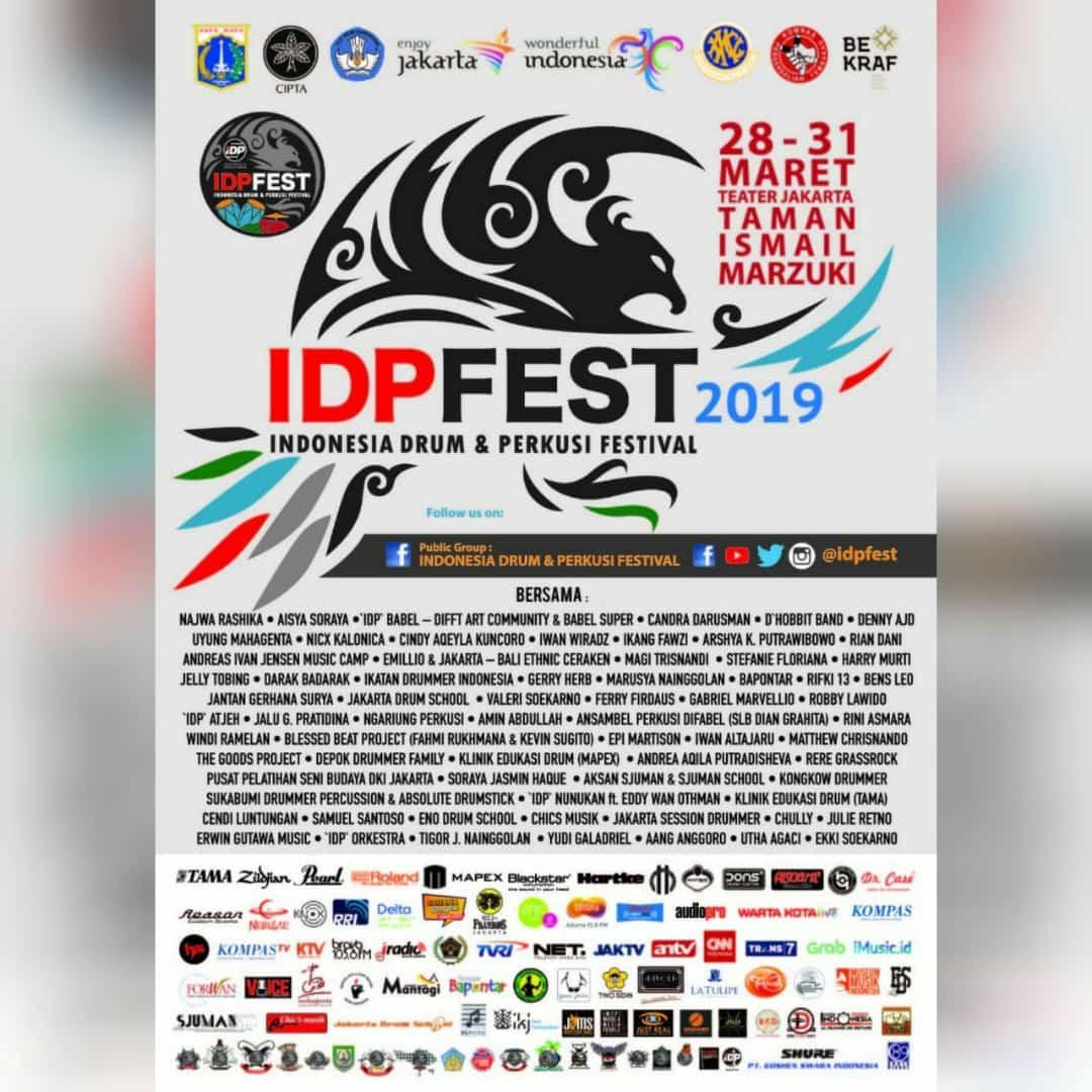 Jangan lupa yang suka alat musik gebuk, nanti malam Final #IDPFest di Taman Ismail Marzuki.. Support terus seni dan budaya nusantara..  #wonderfulindonesia  #musiknusantara pic.twitter.com/9dqnpkPprd