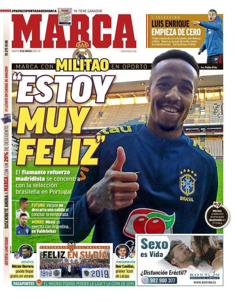 👋😄 ¡Hola!  🗞️ Así vienen las portadas de la prensa deportiva de hoy martes  📺 #Golazo