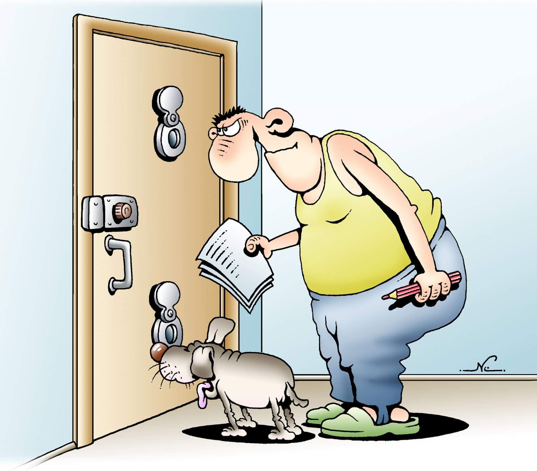 Дверь смешная картинка, войне картинки