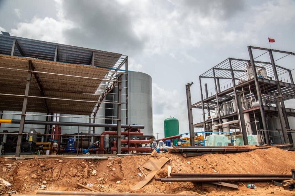Nigeria spends N160 billion importing 400 million liters of ethanol annually for factories. With these new plants getting completed in few months in Ondo State, we shall be producing ethanol in excess. Ethanol is converted from cassava,and farmers will be the biggest beneficiary.