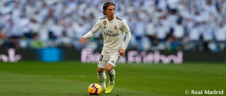 Luka Modric es el madridista que ha dado más asistencias en la Liga. https://buff.ly/2TWdxwD #HalaMadrid