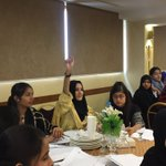 Image for the Tweet beginning: INJAZ Pakistan conducting a workshop