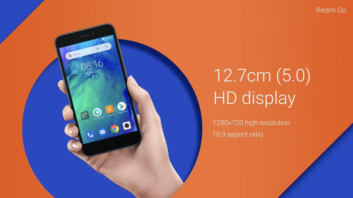 Xiaomi launched  Redmi Go cost 4499 rupees compare Redmi 6A before buy