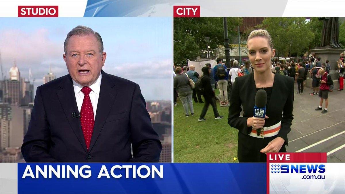 Nine News Melbourne's photo on Anning