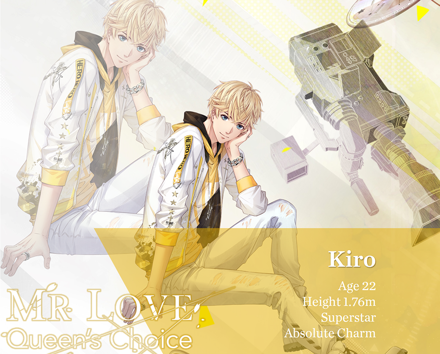 Kiro is a ray of sunshine. As a talented hardworking superstar, he is confident and active, but also easy-going and attaches great importance to his fans.  He could be playful sometimes, but when the crisis comes, you will find him vigilant and observant. <br>http://pic.twitter.com/zPp9Qtefm6