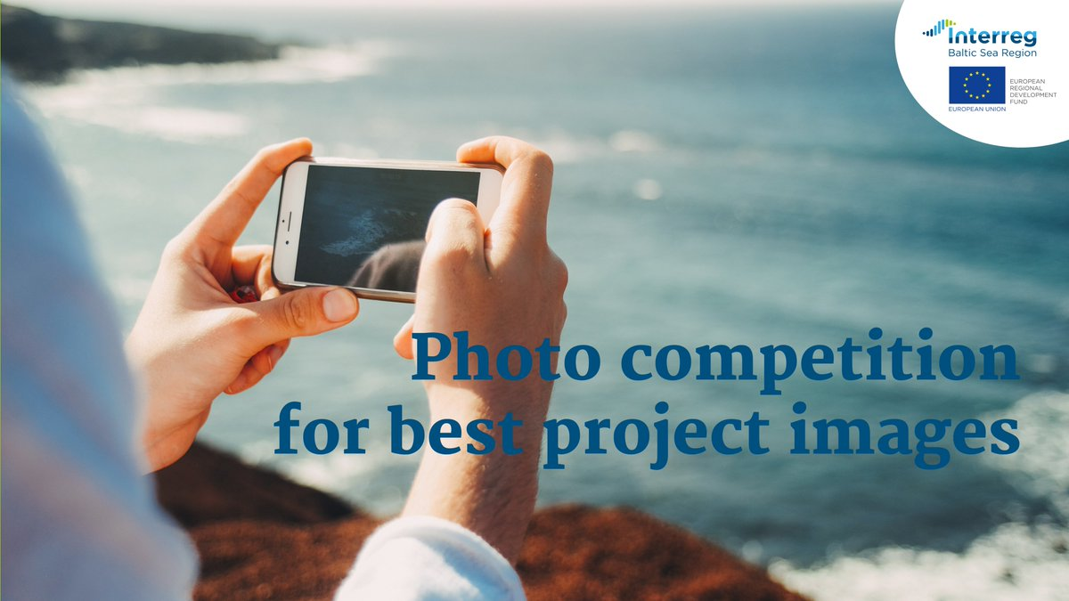 📢📢📢Last day to submit your pictures in the #Interreg #BalticSeaRegion photo competition. 📸 We are waiting until noon - get extra promotion for your project now! #MadeWithInterreg