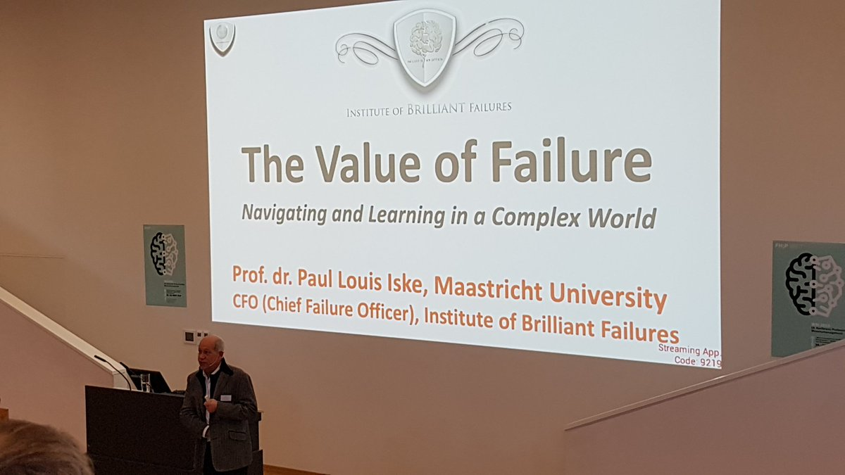 Looking forward to some good stories and lessons learned from failures ... and what to take away from failures. Keynote by @pauliske during @wm2019_fhp <br>http://pic.twitter.com/ereTFXB1ZJ