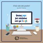 Image for the Tweet beginning: ¡Feliz día del padre! ☺️ Tenemos