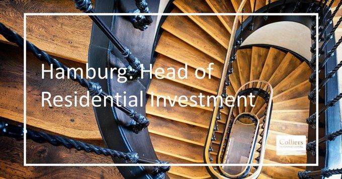 Einstellungssache:<br><br>Wir suchen eine/n Head of Residential Investment in #Hamburg (w/m/d) als Bereichsleiter/in für Wohn- und Geschäftshäuser.<br>#karriere #jobs #immobilien<br><br>Alle Informationen zur Stelle:  t.co/C5YDSXDpxR