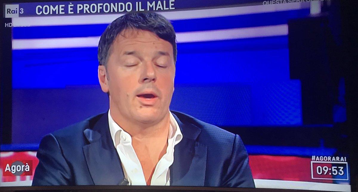 #Renzi ad #Agorà: nel 2014/15 avevamo il 40% dei voti e 17 regioni ed eravamo in vetta poi si è rotto qualcosa. Gli italiani per fortuna hanno capito cosa gli avevano rotto e anche di brutto!!!