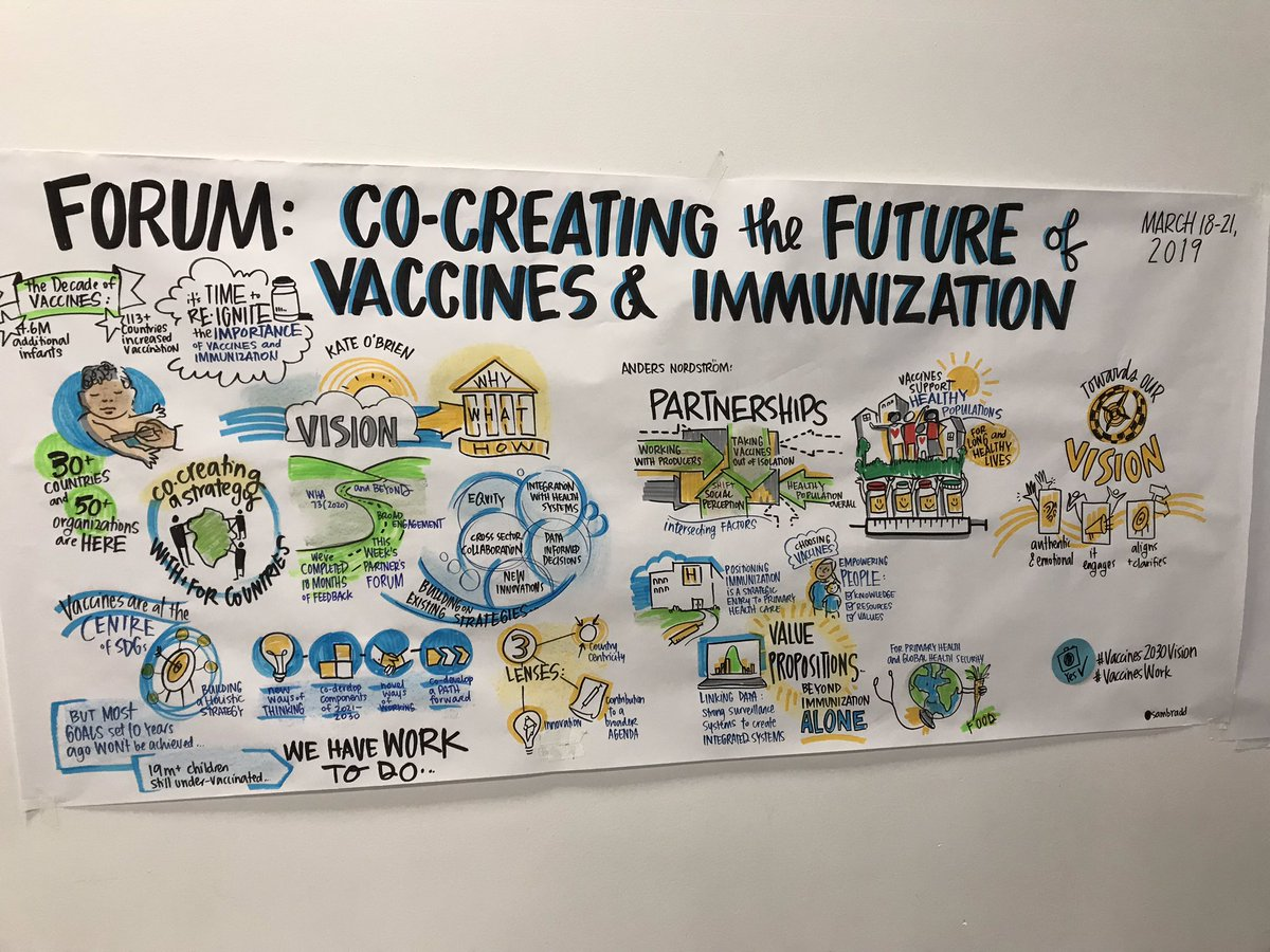 Did the forum discuss plans to do a vax vs unvax study comparing total health outcomes?  #vaccines2030vision