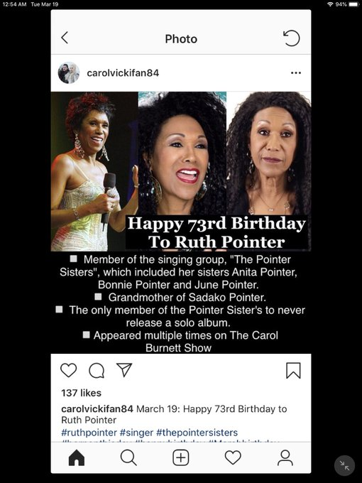 Happy Birthday! Ruth Pointer, Glenn Close, Bruce Willis and Ursula Andress!
