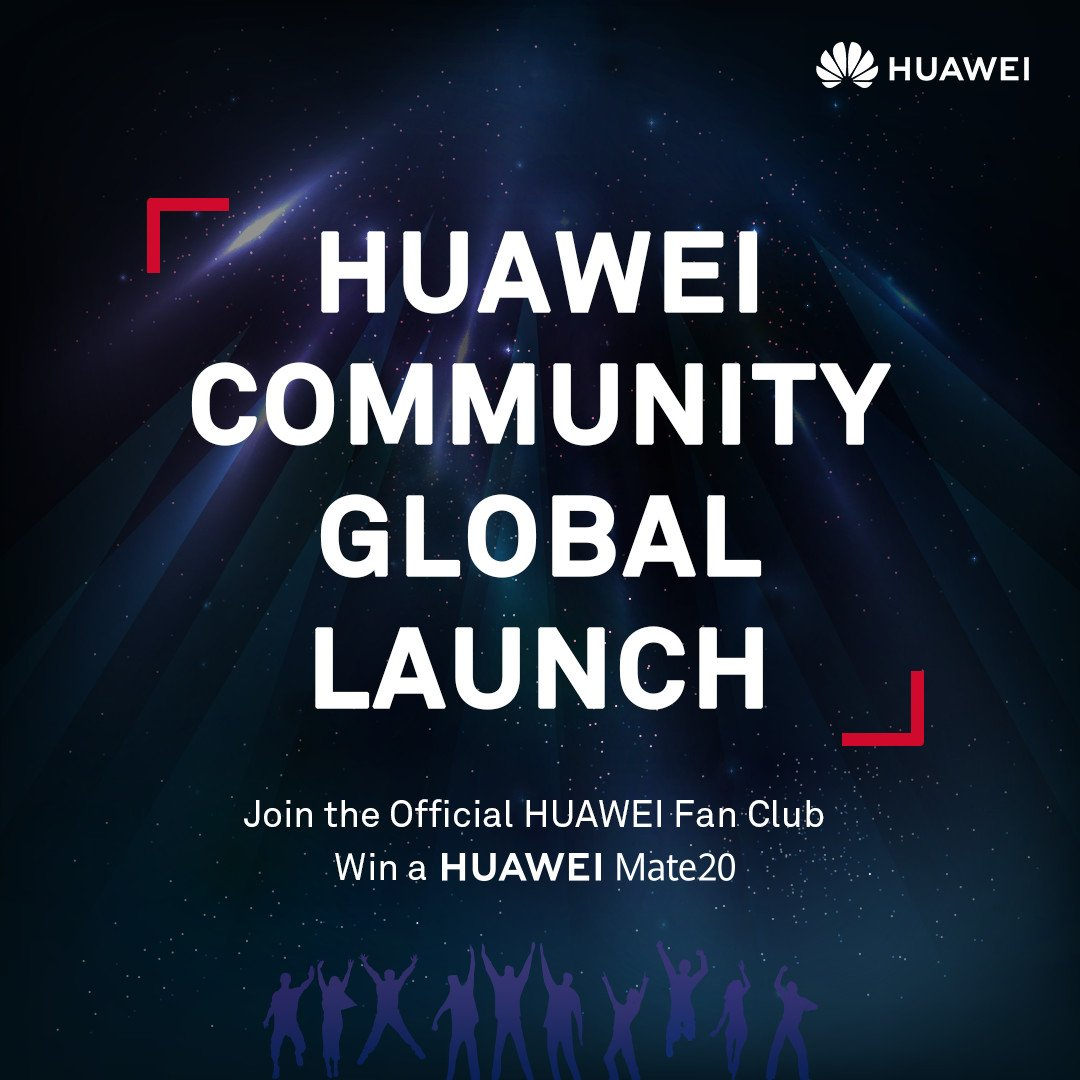 Join us to meet global HUAWEI fans, spread your unique ideas, and take part in various activities! Click and explore the upcoming events now! ...