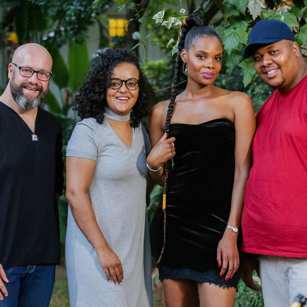 Next week Monday 25 March at 8pm, the four of us will be cooking like mad to be victorious! Follow us on Come Dine With Me #comedinesa and see what's cooking! Channel 120 @BBCSouthAfrica #dstv #foodies #tv #dinner #party #kuier #friends #frenemiesforlife