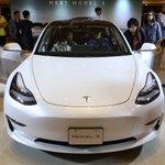 Image for the Tweet beginning: .@Tesla drops mid-range Model 3