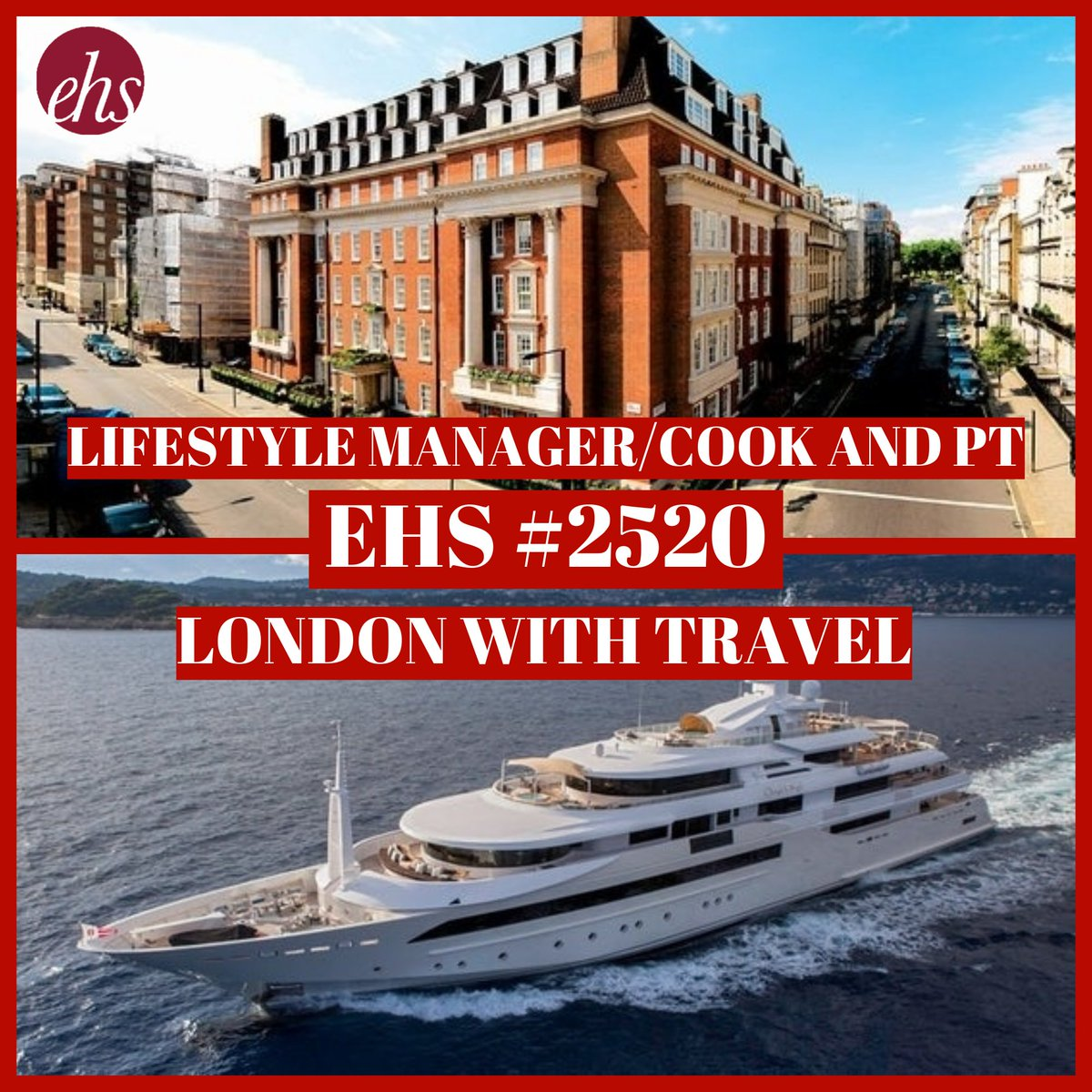 https://www.exclusivehouseholdstaff.com/vacancies/view/lifestyle-manager-travelling-cook-and-pt…  #LifestyleManager #PrivateCook #PrivatePersonalTrainer #PrivatePT #PrivateLifestyleManager #lifestylemanagement #TravellingCook #TravellingPT #LondonLifestyleManager #LondonCook #PrivateChef #LondonPT #LondonPersonalTrainer #PersonalTrainerJobpic.twitter.com/3XNktOKHmN