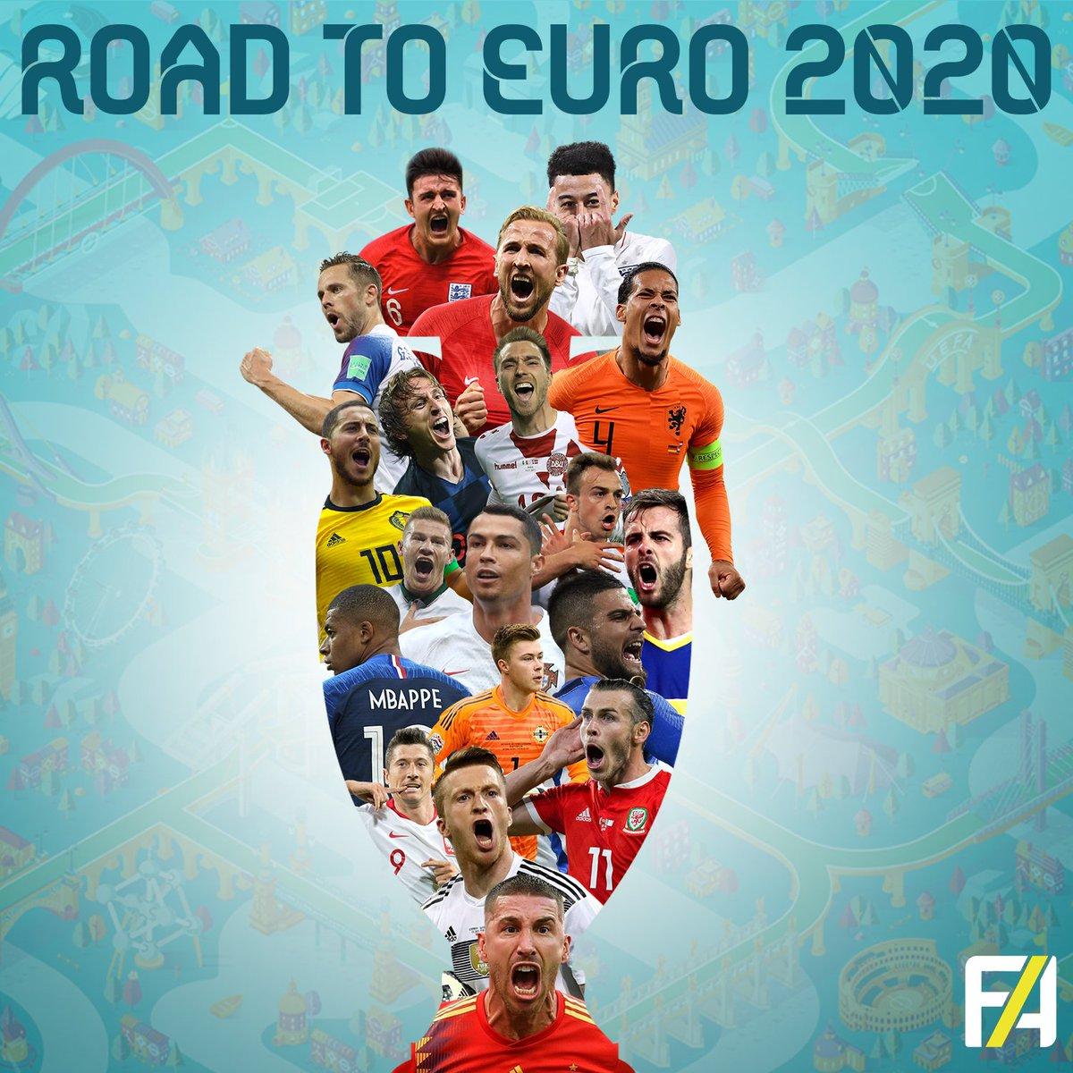 пътят към евро 2020 - квалификации