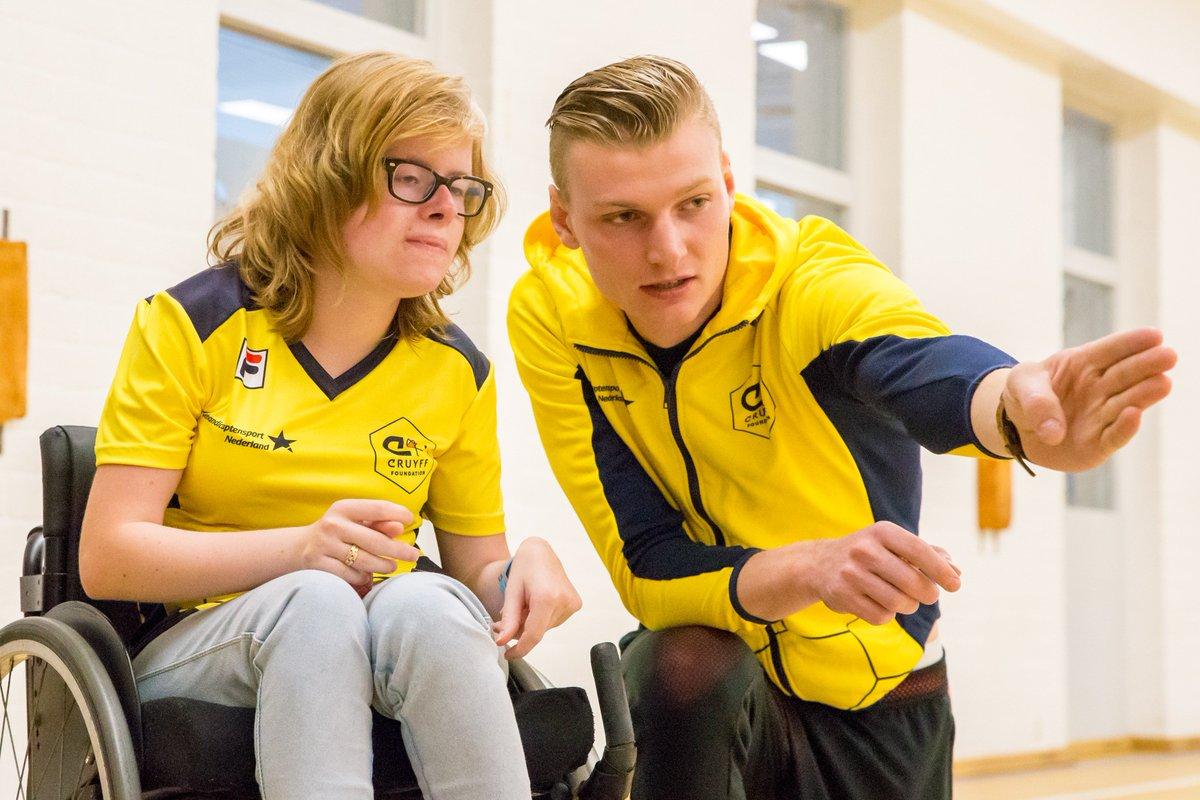 Komende tijd worden er een aantal open trainingen Boccia gehouden in samenwerking met de @JCFoundation. Zowel in Breda als in Dordrecht kan iederéén de sport uitproberen. Interesse? Check het artikel http://bit.ly/2Jl8qSB  #CreatingSpace #Boccia