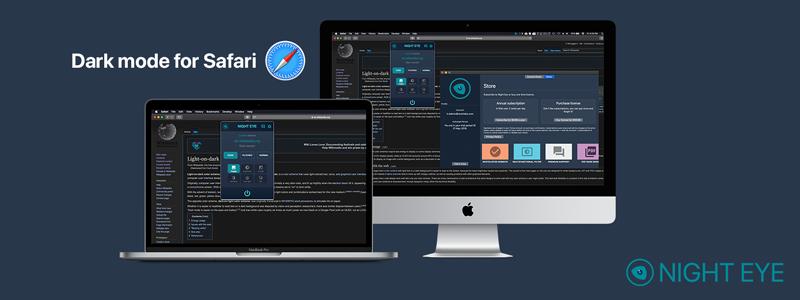 Night Eye - Dark mode extension for any website