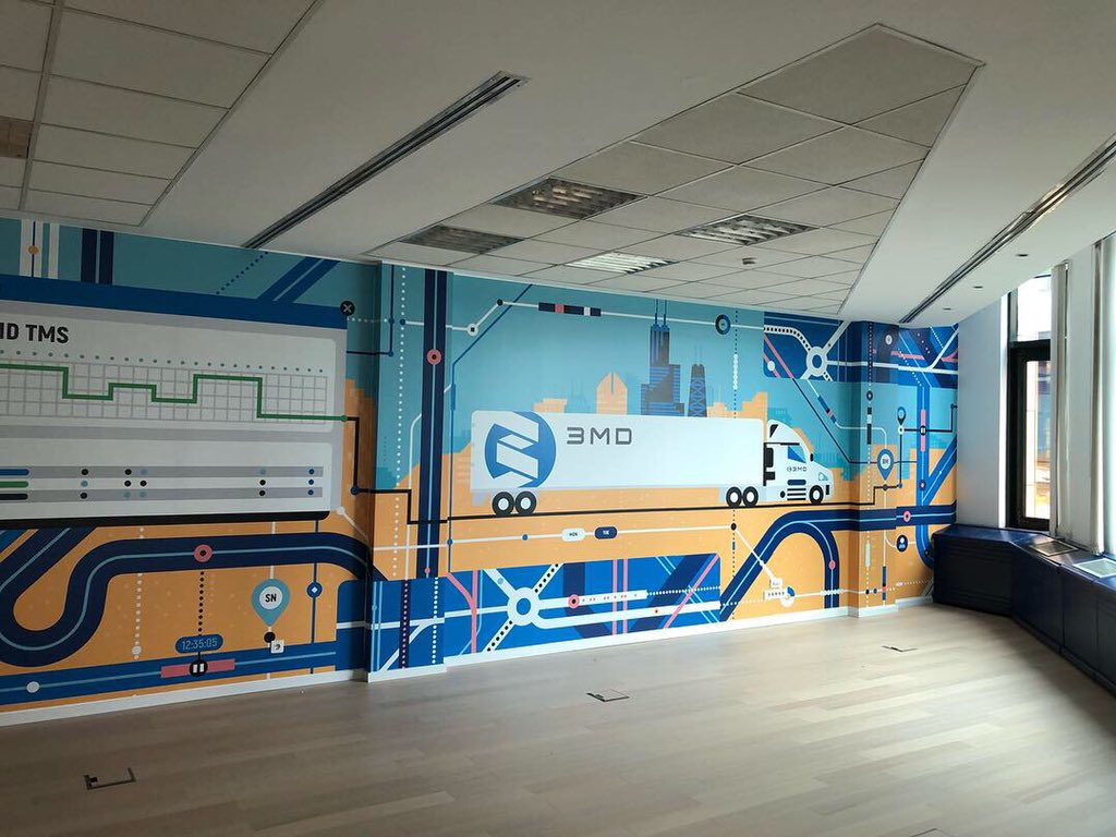 Brendiranje kancelarije našeg novog zakupca. #office #inspiration #3mdinc https://t.co/SDtKl5LUxR
