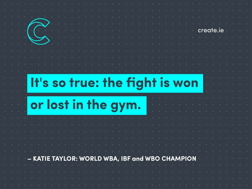 On a special St. Patrick's Weekend, one amazing Irishwoman became the most successful female boxer of all time. Katie Taylor is the unified WBA, IBF and WBO boxing world champion.  #inspiration #rolemodel #preparation #worldchampion #ireland #stpatricksday2019 #boxing #success