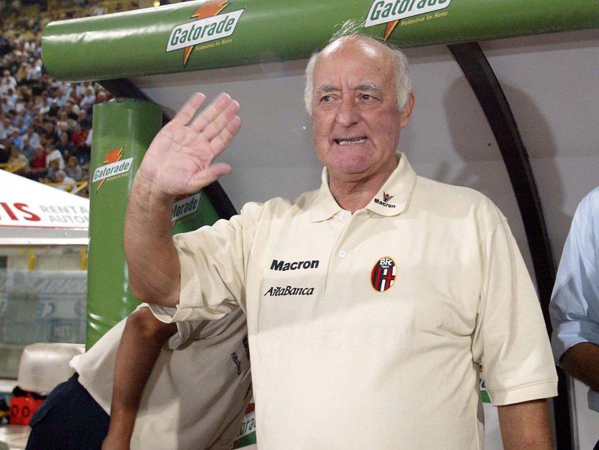 Oggi Carlo Mazzone compie 82 anni 🎂  Tanti auguri Mister ❤️💙  #WeAreOne