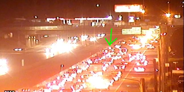 UPDATE: IB Independence Blvd. at Eastway Dr. wreck is blocking the left lane.  Added delays forming #cltraffic #clttraffc #clt<br>http://pic.twitter.com/5GN71tWXo6
