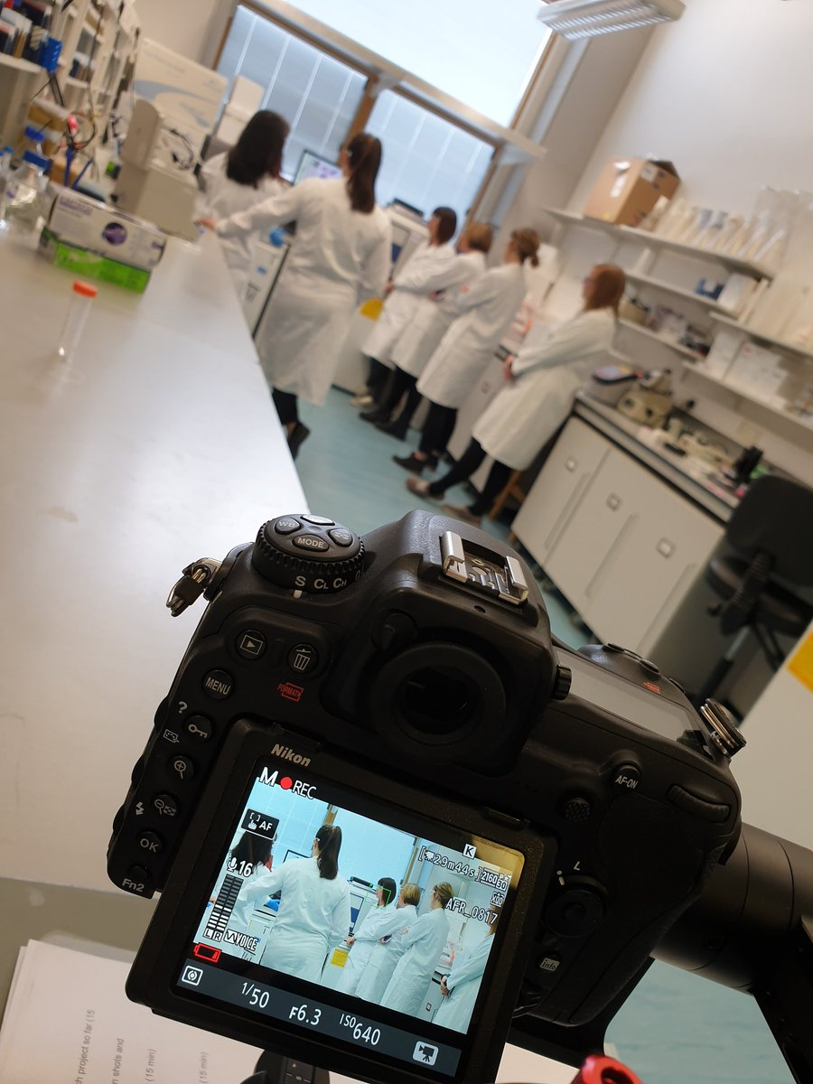 #filming today at the Institute of Medical Sciences at Aberdeen Uni with @AFR_UK & @BreastCancer_uk  on how human models are being developed and studied for breast cancer research #Science #research #animalfreeresearch #animalreplacement