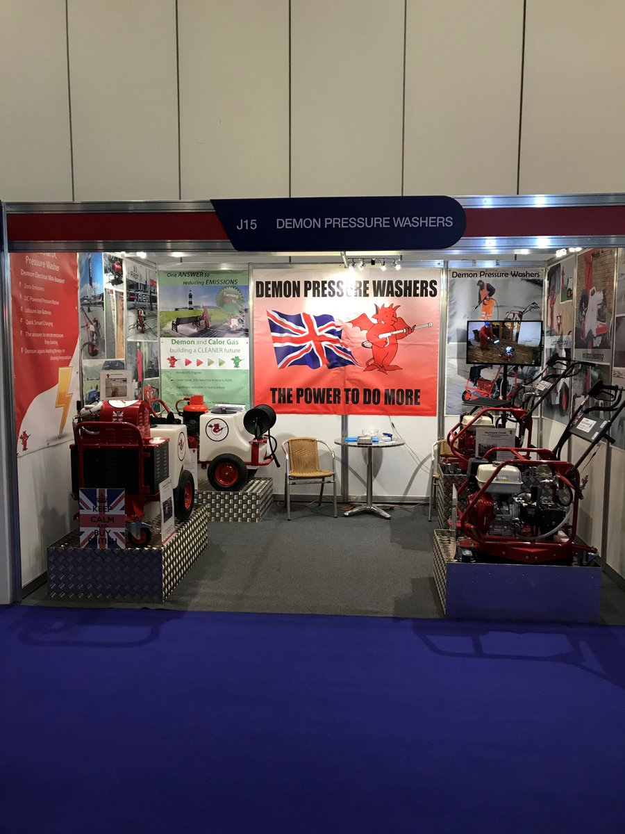 test Twitter Media - We are at @TheCleaningShow at the Excel in London today and tomorrow Stand J15 - come along and see us! #CLEANING #exhibiting #pressurewashers #demon https://t.co/fKHA4jD49X