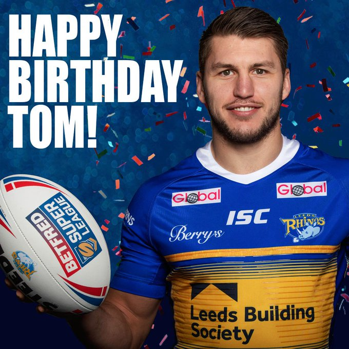 Happy birthday today to Rhinos star Tom Briscoe, less than a week after making his 300th career appearance