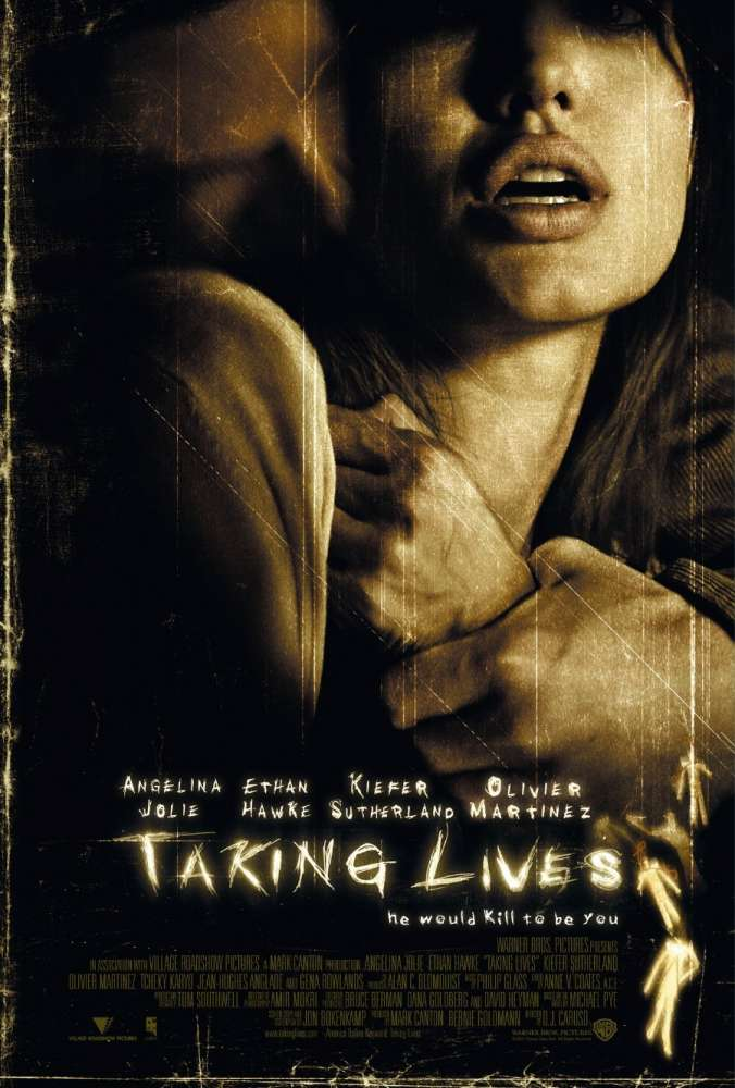 Taking Lives was released on this day 15 years ago (2004). #AngelinaJolie #EthanHawke - #DJCaruso