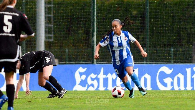 Kika, futbolista del Dépor ABANCA (Foto: RCD).