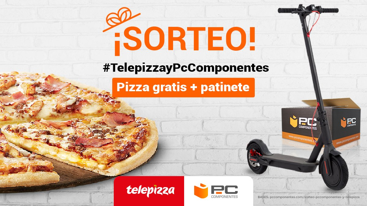 PcComponentes.com's photo on #TelepizzayPcComponentes
