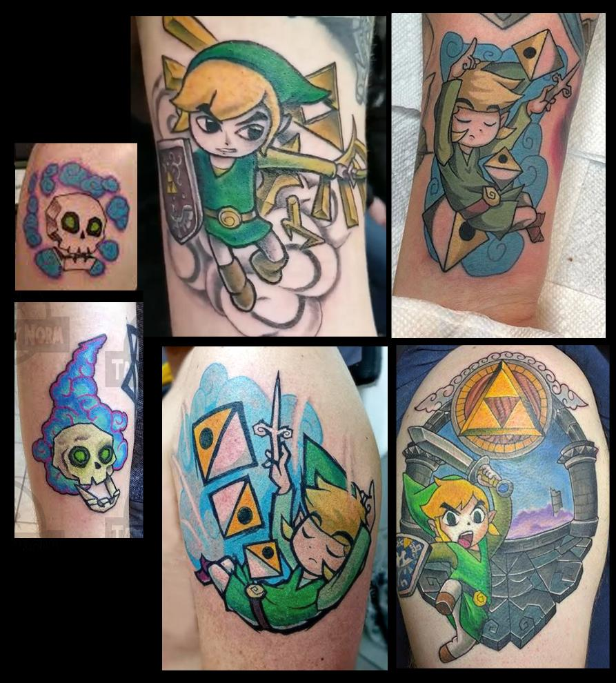 So, I just typed &quot;#WindWaker tattoo&quot; in google image search, and found so many pieces, fully or partially inspired by my fan art, that I didn&#39;t know exist. Feels great  <br>http://pic.twitter.com/FAC4MqZjWf