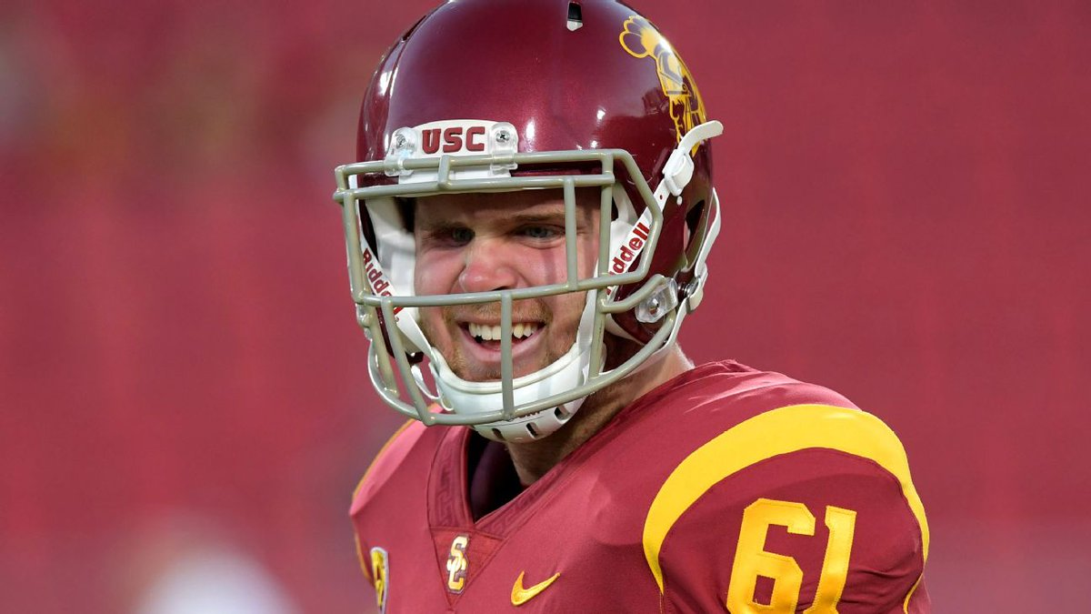 How Jake Olson is using USC's pro day to fight cancer https://abc7.la/2FgVDet