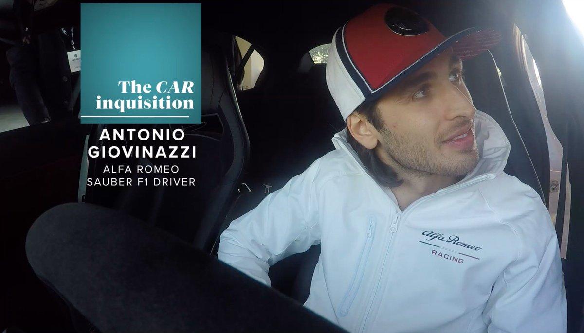 Image for the Tweet beginning: Who is Antonio Giovinazzi? We