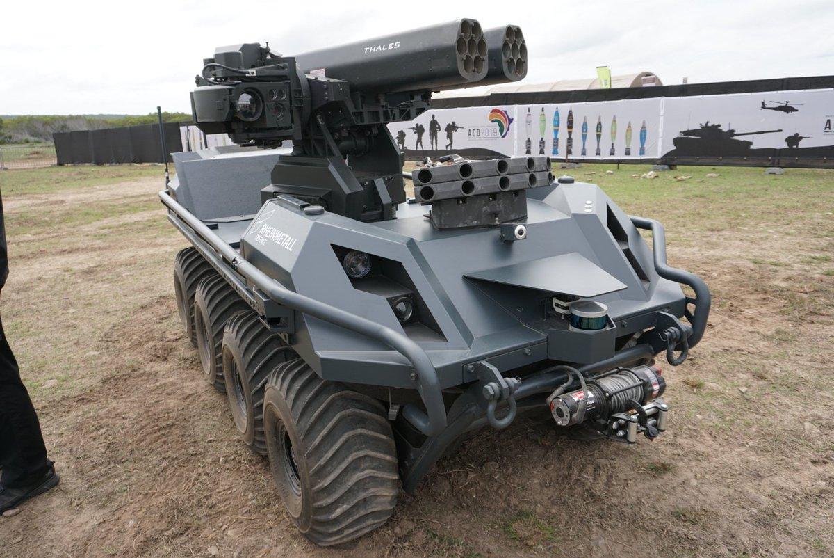 Resultado de imagen para UGV Rheinmetall Mission Master