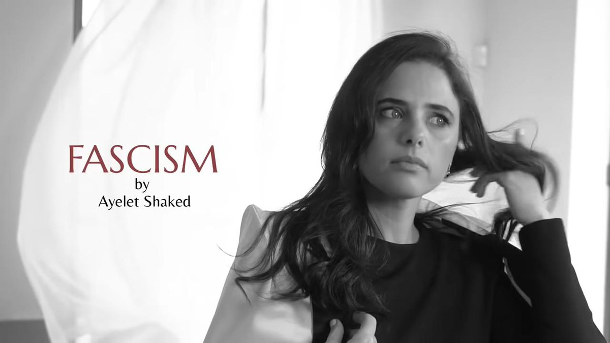 The 'fascism' perfume fashion shoot designed to rile Israel's left wing and canvass the right https://www.thejc.com/news/israel/ayelet-shaked-justice-minister-fascism-perfume-fashion-election-rile-israel-left-wing-canvass-right-1.481707…
