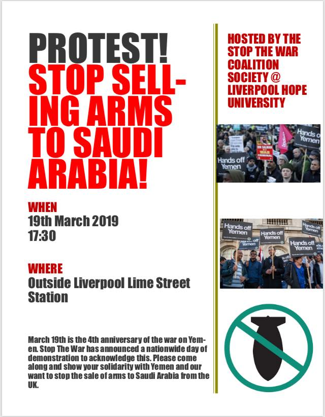 Student Stop the War's photo on Liverpool