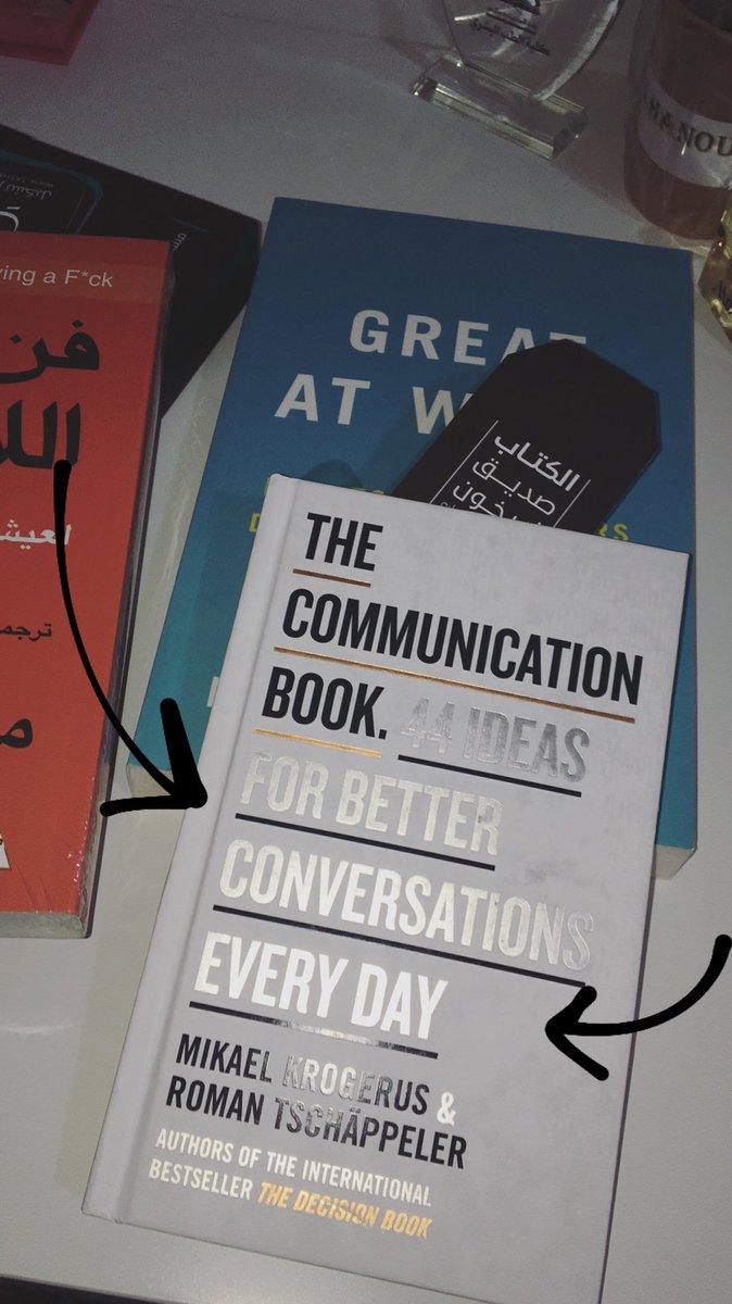 @TEDxRiyadh 44 ideas for better conversations every day🌟  هذا الكتاب طحت فيه بالصدفه وكان آخر نسخه مع ان غلافه مغبر كان إلا اني قلت مستحيل ما اشتريه! كتب تطوير الذات وتحسينها هي ما أتمتع بقراءتها👌🏻 https://t.co/R6WsVPsOk7