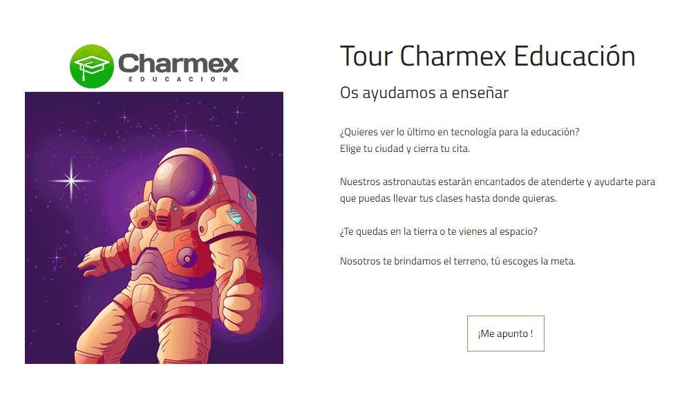 ¿Quieres conocer las últimas soluciones tecnológicas de @Charmex para los centros de enseñanza y formación? ¡Súbete a su tour! El 28 de marzo llega a Granada. https://www.charmex.net/es/tour-educacion…