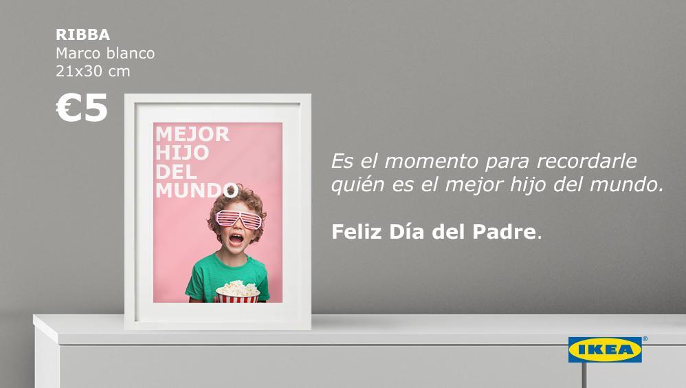 Hoy es el día perfecto para recordarle a tu padre el equipazo que hacéis. #FelizDíadelPadre 👉🏼 https://social.ikea.es/CjvMmw