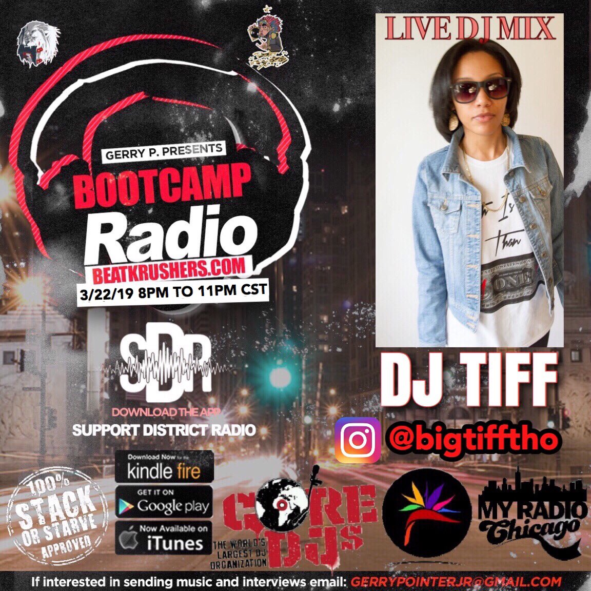 @bigtifftho #officialdjofbootcampradio will be LIVE 3/22/19‼️🎛🔊 DJ's to be part of the Line Up for @bootcampradio 2019 HTL 312.415.7802🗣☎️📥 . . #LIVEDJ #music #DJTIFF #bigtifftho #stackorstarveapproved #swankpr #dsymoneallure #gerrypentertainment #bootcampradio