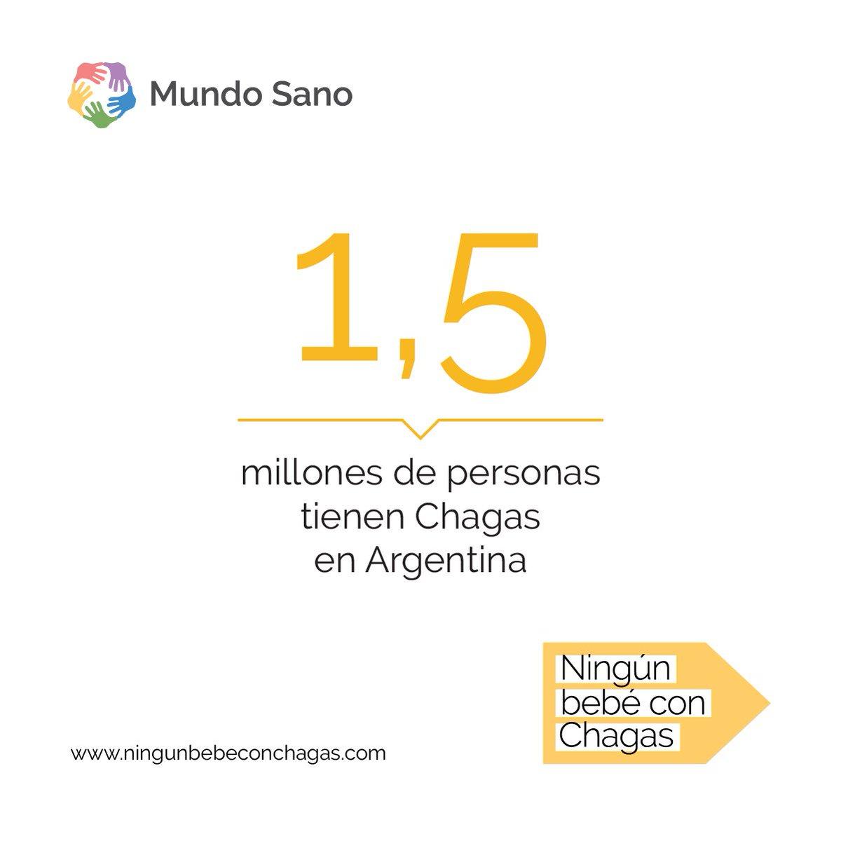 ¿Sabías que el 90% de los casos congénitos de #Chagas tratados durante el primer año de vida se curan? Sumate a nuestro compromiso y 📢difundí #NingúnBebéConChagas  http://ningunbebeconchagas.com