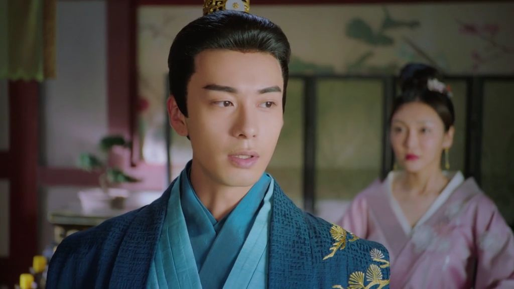 he looks like he&#39;s gonna eat someone before xu niang said something about xiao feng is a good person, he said he knows and smiled. This guy&#39;s mood depends on xiao feng   #goodbyemyprincess #东宫 #easternpalace #fiftyofshadesoflichengyin<br>http://pic.twitter.com/DsWAfpAdVN